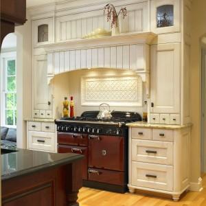 Freestanding gas AGA cooker