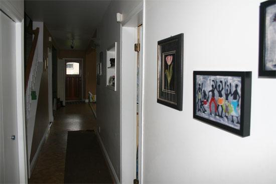 heritage reno view towards front door - before