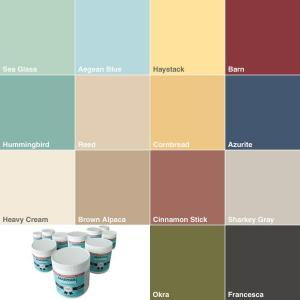 Martha Stewart colours
