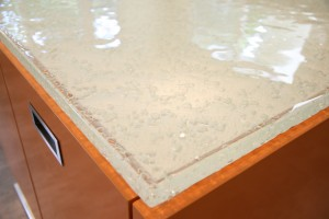 Close-up of the Thinkglass countertop